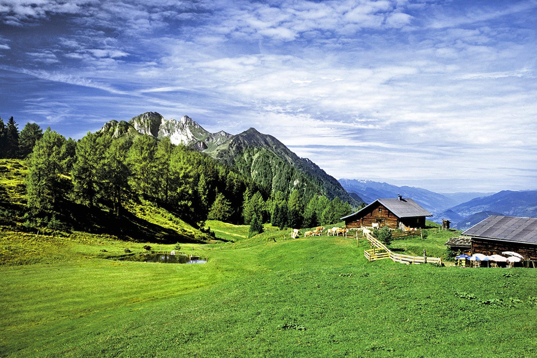 Mountainbiken im Salzburger Land in Österreich