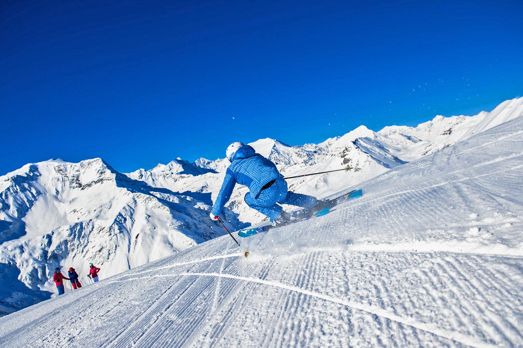 Skifahren in der Ski amadé in Österreich | Chaletdorf BERGHERZ